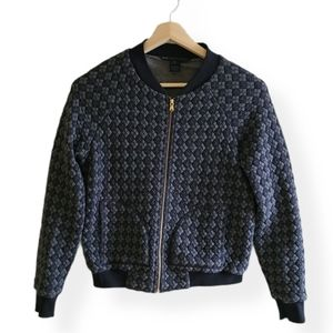 Marc Jacob's quilted bomber style jacket